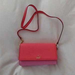 Kate Spade color block crossbody bag